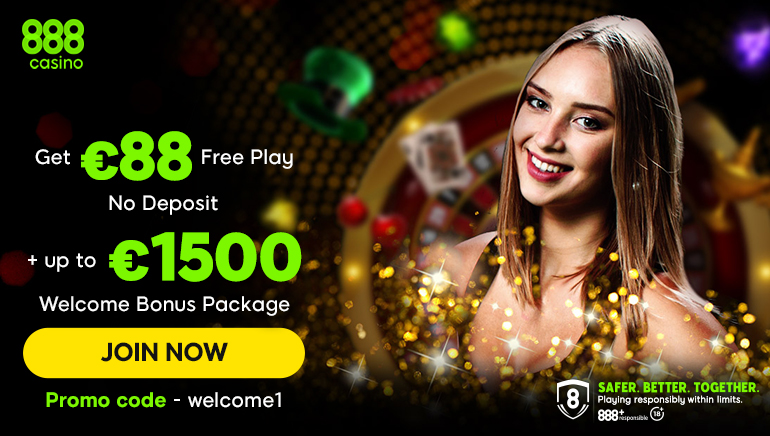 888 Casino Sprinkles Plenty of Bonus Cheer for Irish Players