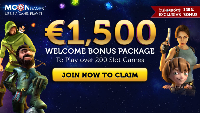 Moon Games' Gaming Offer Is Outstanding With a Huge Welcome Bonus