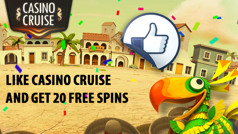 Spinata Grande Free Spins for Facebook Likes at Casino Cruise