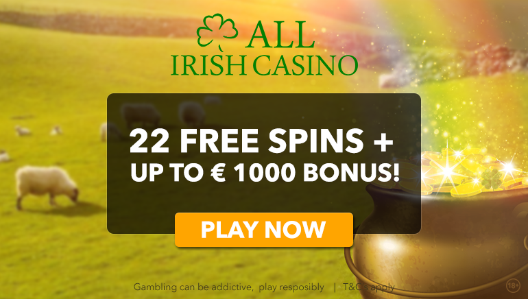 All Irish Casino Banner July 7th, 2018