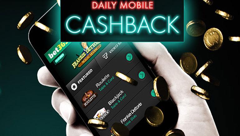 de online casino cashback scene