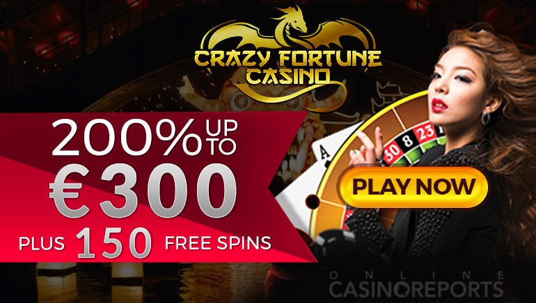 Crazy Good Welcome Offer at Fortune Casino
