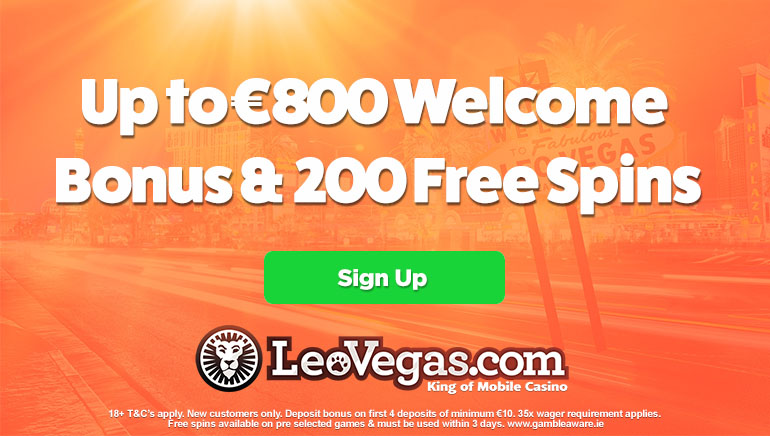 Extend Your Welcome at LeoVegas Casino