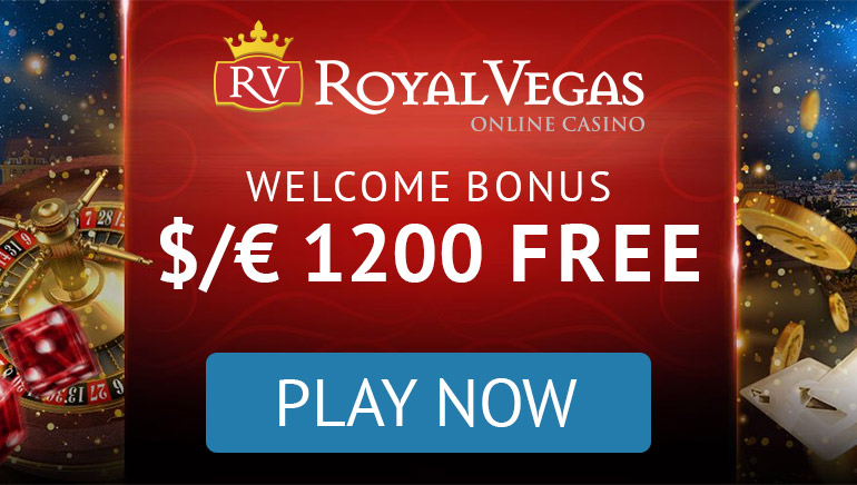 Royal Vegas Offers a Royal Welcome Bonus to New Players
