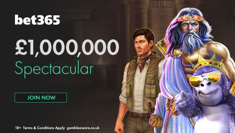 bet365 Invites Players to Join the £1,000,000 Spectacular Promotion
