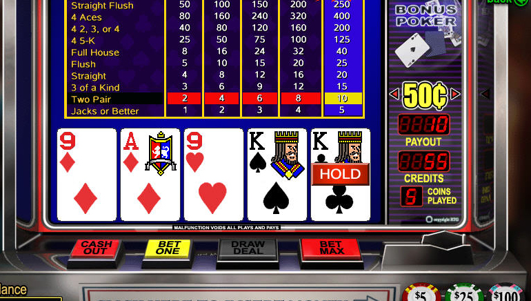 Free online video poker game aztec casino riches